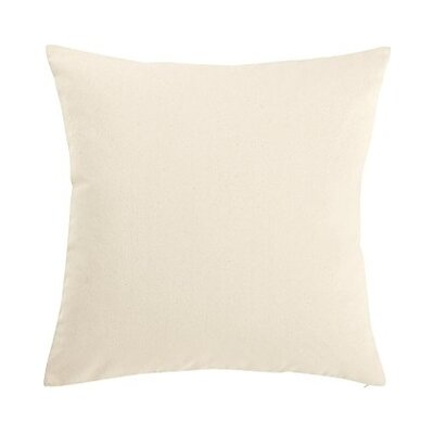 Sailcloth Pillow Slipcover Color: Natural