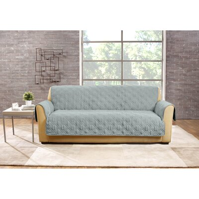 Deluxe Sofa Slipcover Color: Mist