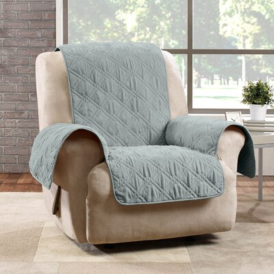 Deluxe Recliner Slipcover Color: Mist