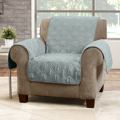 Deluxe Arm Chair Slipcover Color: Mist