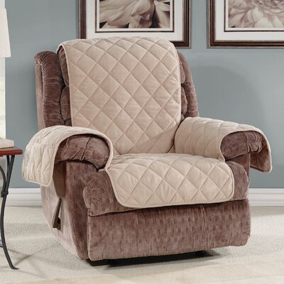 T-Cushion Recliner Slipcover Color: Taupe