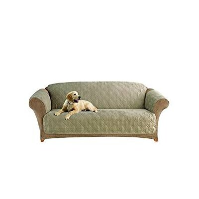 Sofa Slipcover Upholstery: Sable