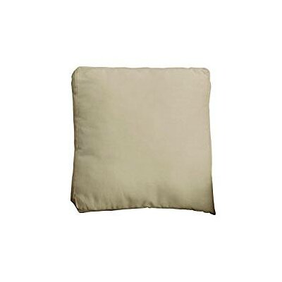 Duck Solid Pillow Slipcover Color: Linen