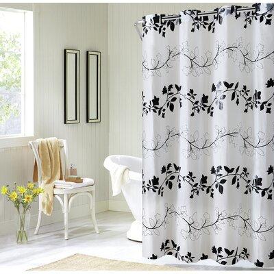 Beadnell Peva Floral Vine Shower Curtain