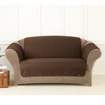 Furniture Friend Throw Polyester Loveseat Slipcover