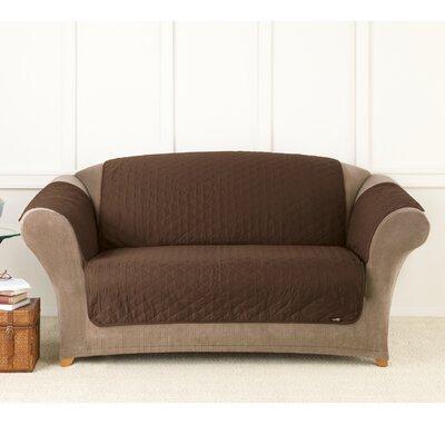Friend Throw Box Cushion Loveseat Slipcover