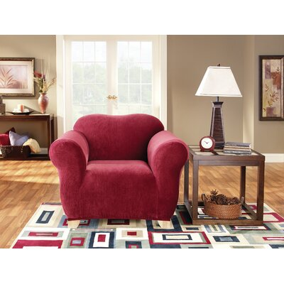 Stretch Pearson Box Cushion Loveseat Slipcover