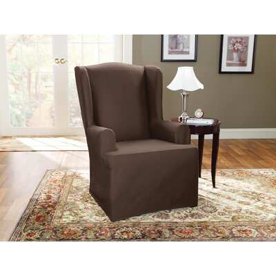 Duck Wing Polyester Armchair Slipcover
