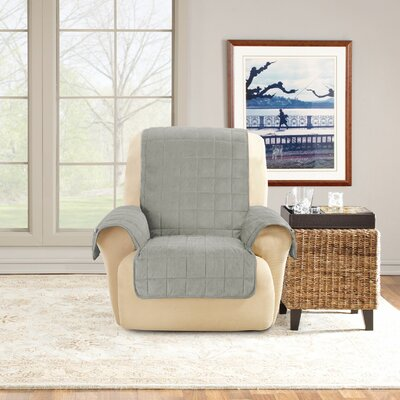 Deep Pile T-Cushion Recliner Slipcover