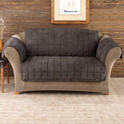 Deluxe Pet Comfort Loveseat Slipcover Upholstery: Mini Check