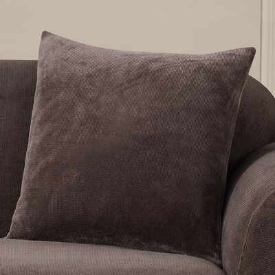 Stretch Metro Throw Pillow Color: Espresso
