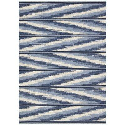 Malika Handmade Sapphire Area Rug Rug Size: Runner 23 x 8