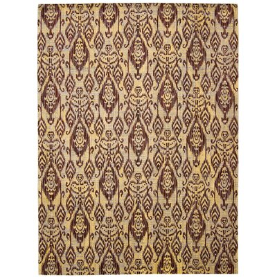 Moroccan Ginger Area Rug Rug Size: Rectangle 53 x 75