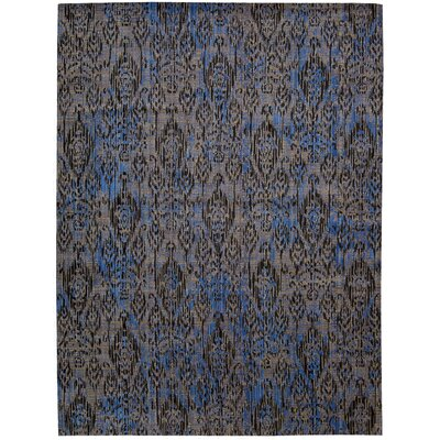 Moroccan Indigo Area Rug Rug Size: 53 x 75