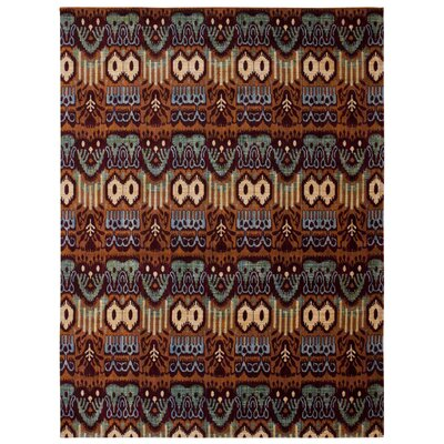 Moroccan Brown Area Rug Rug Size: Rectangle 53 x 75