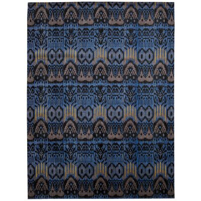 Moroccan Sapphire Area Rug Rug Size: Rectangle 53 x 75