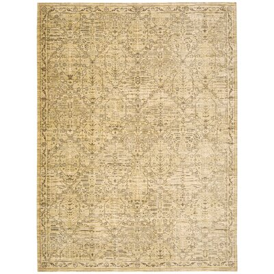 Moroccan Sand Area Rug Rug Size: Rectangle 53 x 75
