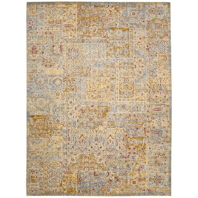 Moroccan Beige Area Rug Rug Size: Rectangle 53 x 75
