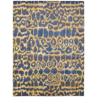 Moroccan Ink Rug Rug Size: 73 x 99