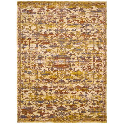 Moroccan Ginger Area Rug Rug Size: Rectangle 73 x 99