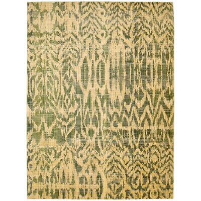 Moroccan Olive Area Rug Rug Size: Rectangle 73 x 99