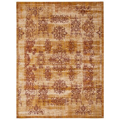 Moroccan Amber Area Rug Rug Size: Rectangle 73 x 99