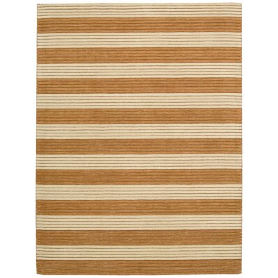 Ripple Pumpkin Area Rug Rug Size: Rectangle 36 x 56