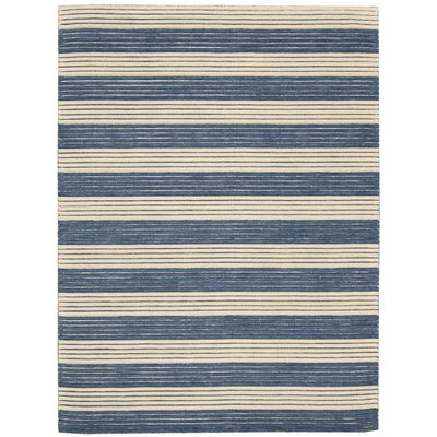 Ripple Midnight Blue Area Rug Rug Size: Rectangle 79 x 1010