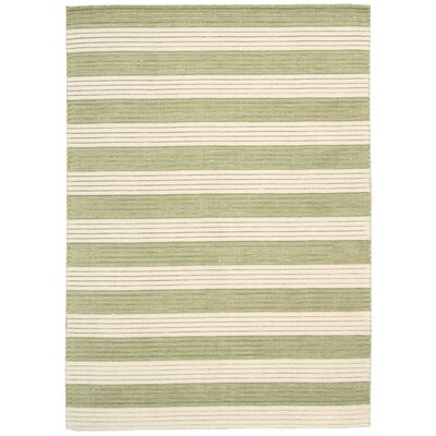 Ripple Sage Area Rug Rug Size: Rectangle 36 x 56