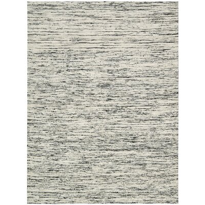 Zahra Hand-Woven Stone Area Rug Rug Size: Rectangle 4 x 6
