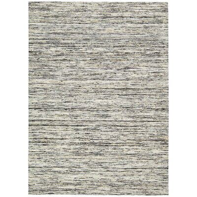 Zahra Hand-Woven Cobble Stone Area Rug Rug Size: Rectangle 4 x 6