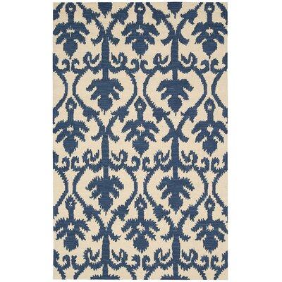 Ampur Indigo Area Rug Rug Size: Rectangle 36 x 56