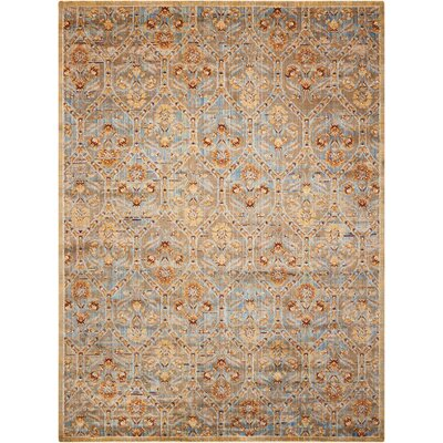 Moroccan Deep Sea Area Rug Rug Size: Rectangle 73 x 99