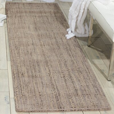 Clarkshire Hand-Woven Smoke Area Rug Rug Size: Runner 23 x 8