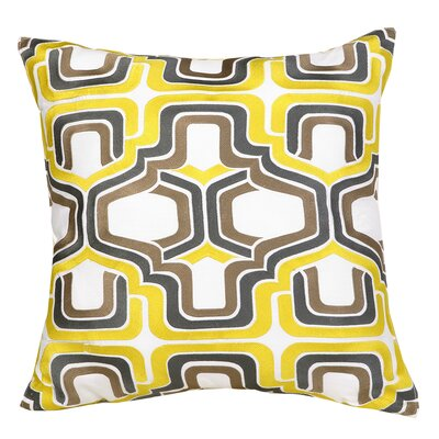 Ogee 100% Cotton Throw Pillow