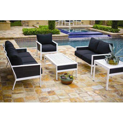 Parkview Woven Deep Seating Group - Product photo
