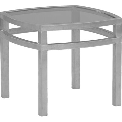 Eclipse Square Side Table Finish: Gloss White