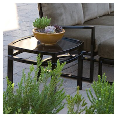 Eclipse Square Side Table Finish: Textured Black