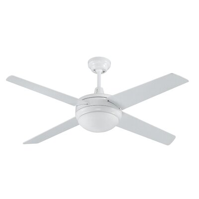50 5-Blade Ceiling Fan Finish: White