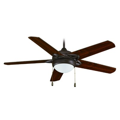 52 4-Blade Ceiling Fan Finish: Bronze