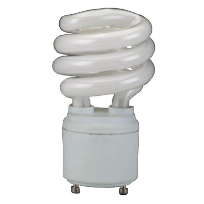 GU24 Compact Fluorescent Light Bulb Wattage: 13W