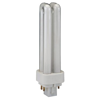 G24q-1 Compact Fluorescent Light Bulb Wattage: 13W, Bulb Temperature: 2700K