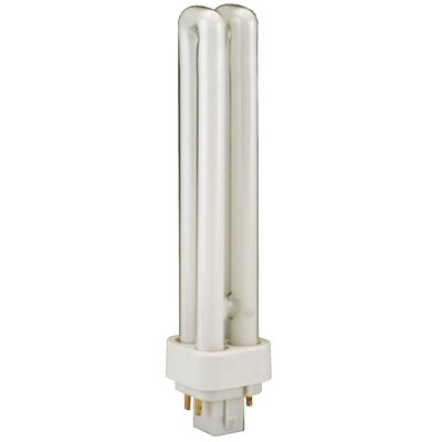 G24q-1 Compact Fluorescent Light Bulb Wattage: 26W, Bulb Temperature: 4100K