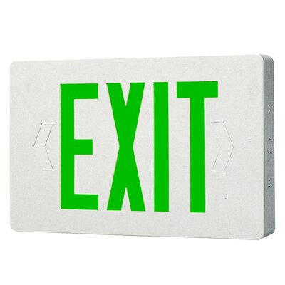 LED Exit Sign Light