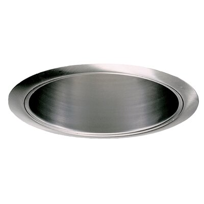 Reflector 6 Recessed Trim Finish: Brushed Aluminium