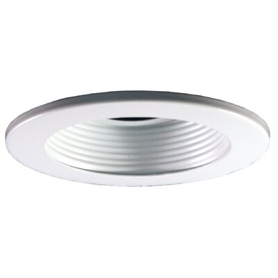 Baffle 4 Recessed Trim Trim Finish: Clear, Finish: White