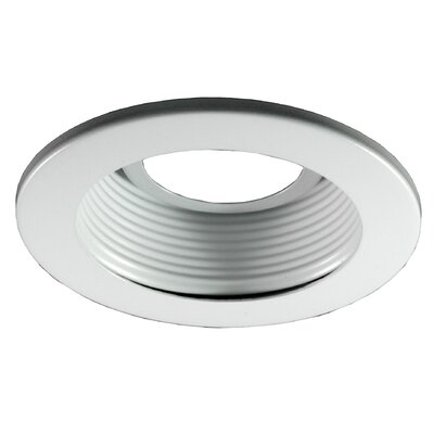 Baffle 3 Recessed Trim Trim Finish: Clear, Finish: White