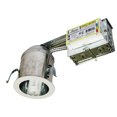 Remodel Recessed Housing Bulb: 18 W