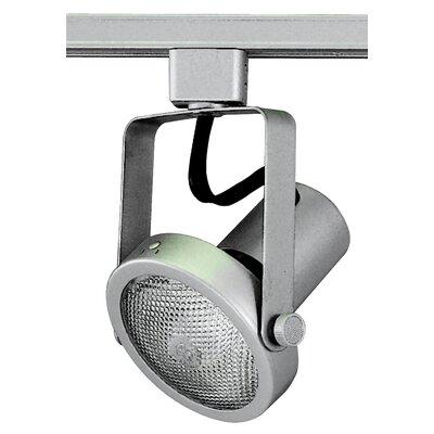 Gimbal 1-Light 75W l Ring Track Head Finish: Brushed Aluminium
