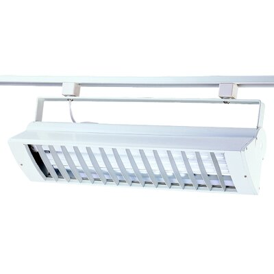 BIAX 2-Light Track Fixture Finish: White